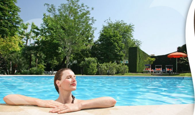 Hotel savoia thermae spa a abano terme portale terme - Abano terme piscine notturne ...