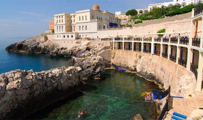 Grand hotel mediterraneo a santa cesarea terme portale terme - Bagno 19 santa cesarea terme ...